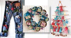 19+neokoukaných+tipů,+jak+si+udělat+vlastní+adventní+kalendář Advent, Crochet, Frame, Christmas, Decor, Crocheting, Picture Frame, Yule, Dekoration