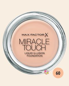 MAX FACTOR Miracle Touch Compact Fondöten 60 Sand