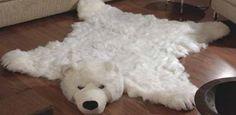коврик шкура медведя
