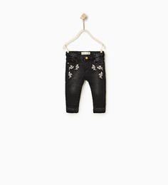 ZARA - KIDS - Embroidered jeans