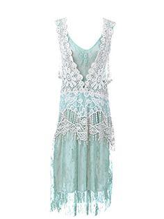 Anna-Kaci Seafoam Granny Influence Embroidery Detail Lace Ruffle Dress - Small/Medium Anna-Kaci http://www.amazon.com/dp/B00824G9BU/ref=cm_sw_r_pi_dp_rGfcvb0HSPKEB