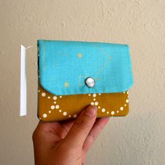 Items similar to Constellations - Aqua and Gold - Stars- Cash and Card Wallet with Zipper for Change on Etsy Hot Butter, Gold Stars, Card Wallet, Constellations, Favorite Color, My Design, Coin Purse, Aqua, Change