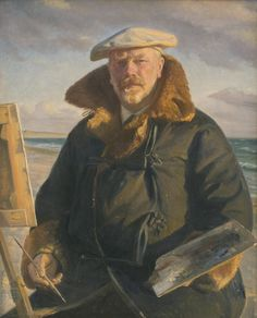 Selvportræt, 1902 - Michael Ancher - Michael Ancher - Wikipedia, the free encyclopedia