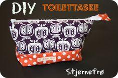 Stjernefrø: DIY Toilettaske