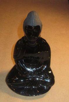 Baccarat Buddha Crystal Figurine by thelazydogantiques on Etsy