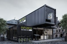 INFOBOX   CRACOW on Behance