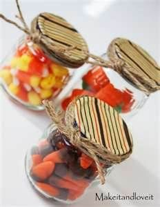 fall party favor...... Baby food anyone? COOL IDEAS!!!