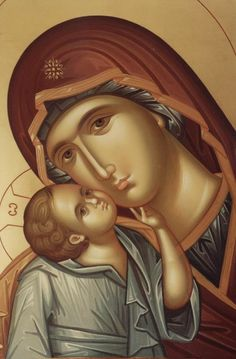 When you pray to our Lady. When you are about to pray to our Lady the Holy Virgin, be firmly assured, before praying, that you will not depart from her without having received mercy. Religious Pictures, Religious Icons, Religious Art, Catholic Doctrine, Orthodox Christianity, Byzantine Icons, Byzantine Art, Blessed Mother Mary, Blessed Virgin Mary