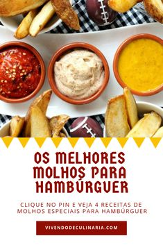 Aumente as vendas de seus hambúrgueres com essas 4 receitas de molho. #hamburguer #molhohamburguer #dinheirocomcomida #molhos #aumentarvendas Lunch Recipes, Breakfast Recipes, Dinner Recipes, Pizza Burgers, Hamburger Recipes, Quick Snacks, Diy Food, Food Truck, Food Porn