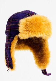 Fur Hat – Nordic Patterns