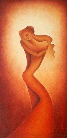 PASSION - Malerei, 50x100 cm ©2005 von Anita Burnaz -
