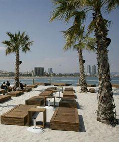 Les chiringuitos des plages de Barcelone