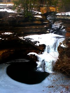 old man's cave / cedar falls - hocking hills state park, ohio