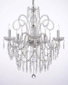 G46 B27 3 385 5 Gallery Murano Venetian Style All Crystal Chandelier