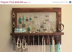 Beautiful jewellery storage and display in one