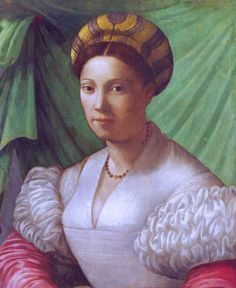 Italian, Florentine painter - Portrait of a Lady (about 15…   Flickr