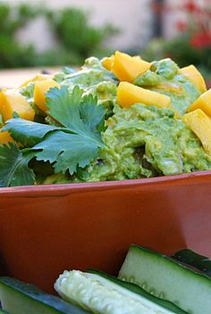 Mango Guacamole Recipe