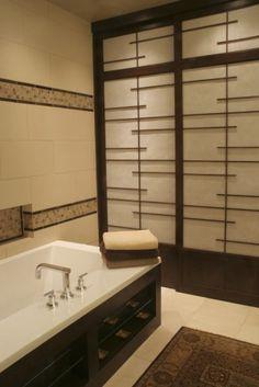 asian bathroom by Design Times Inc