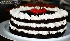 black forest para mi cuñado #selva #negra #torta #cake #blackforest