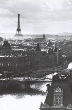 Paris Eiffel Tower Seine River Poster 24x36 – BananaRoad