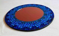 Mosaic mirror for home decoration #vintagemaya #mosaic #handcraft #mosaic mirror #home decor