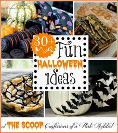 CONFESSIONS OF A PLATE ADDICT 30  {More} Fun Halloween Ideas