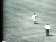 April 25, 1976 Rick Monday saves the American flag at Dodger Stadium