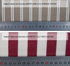 Maryland Col 16 Beige / Vermont Col 1 Röd Från LC Möbler Maryland Col 16 Beige / Vermont Col 1 Red From LC Furniture