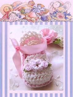 Baby Girl Crochet Sandals, Baby Girl Gift