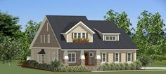 Tell us what you think of this this quaint cottage #houseplan featuring two stories of family living? Meadowview House Plan 9018 - 4 Bedrooms and 2.5 Baths | The House Designers http://www.thehousedesigners.com/plan/meadowview-9018/