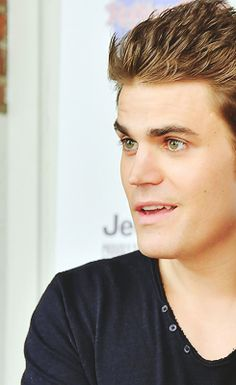 Paul Wesley / The Vampire Diaries Oh Lawdy he's so attractive
