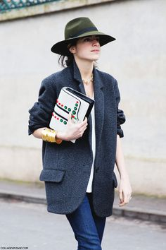 PARIS FASHION WEEK STREET STYLE II - Collage Vintage