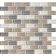 View The Daltile Cw21 21bjms1p Color Wave 2 X 1 Willow Waters Blend