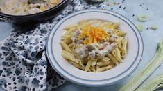 Egy finom Tejfölös-kukoricás csirkemell pofonegyszerűen ebédre vagy vacsorára? Tejfölös-kukoricás csirkemell pofonegyszerűen Receptek a Mindmegette.hu Recept gyűjteményében! Ravioli, Penne, Quiche, Macaroni And Cheese, Spaghetti, Meat, Chicken, Ethnic Recipes, Food