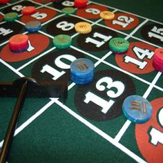 Bar a roulette habitat sublimation poker chip blanks