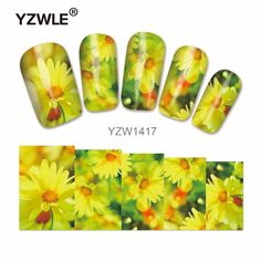 YZWLE Water Transfer Nail Art Sticker Kids Decals DIY Decoration For Beauty Nail Tools #Affiliate
