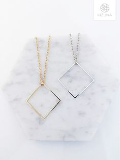 Stone Necklace, Arrow Necklace, Trendy Necklaces, Fashion Necklace, Minimalist, Chain, Pendant, Silver, Gold