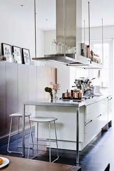 Natalie Bloom's kitchen via The Design Files   Photo by Sean Fennessy, production Lucy Feagins / The Design Files