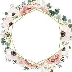Flowery Wallpaper, Framed Wallpaper, Flower Background Wallpaper, Flower Backgrounds, Wallpaper Backgrounds, Deco Baby Shower, Free Printable Stationery, Instagram Frame Template, Flower Logo