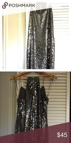 Express Sequin Mini Dress. Charcoal Gray Express Sequin Mini Dress. Charcoal Gray. Worn Once. Like New. Size XS Express Dresses Mini