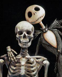 The Nightmare Before Christmas / Jack Nightmare Before Christmas Halloween, Fall Halloween, Halloween Prop, Halloween Witches, Halloween 2018, Happy Halloween, Halloween Decorations, Jack Skellington Pumpkin, Tim Burton Art