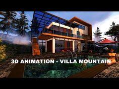 3D ANIMATION - VILLA MOUNTAIN