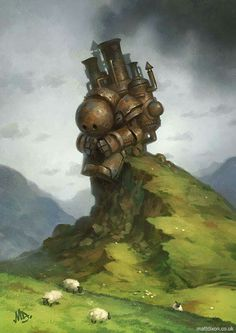"""The wandering giant"" by Matt dixon Transmissions 3 series"