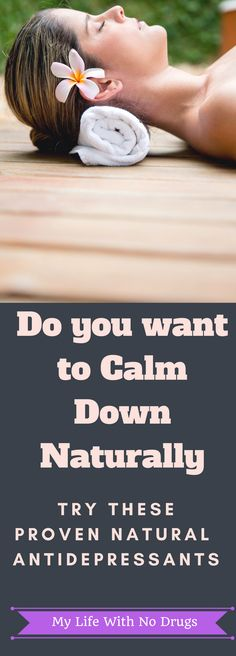 #calmdown #naturally with these #natural #antidepressants #naturalremedies