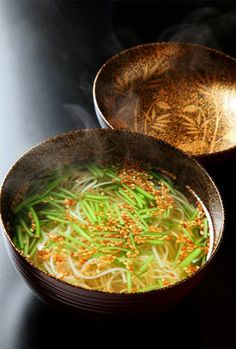 Beat the heat with nyumen noodles This is really good. From http://www.houseofjapan.com