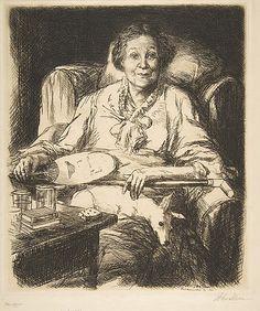 Mother John Sloan (American, Lock Haven, Pennsylvania 1871–1951 Hanover, New Hampshire)  Date:     1906