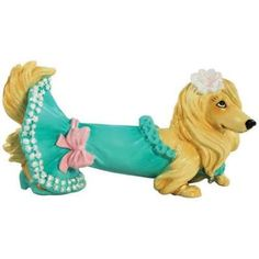 Strutting Diva Hot Diggity Dog Dachshund Mini Figurine | eBay