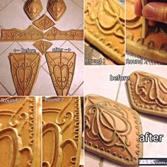 Worbla how to get details