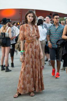 Festivalová móda: Coachella 2015
