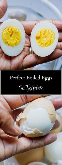 The secret perfect boiled eggs every time is starting with boiled water! Brunch Recipes, Appetizer Recipes, New Recipes, Breakfast Recipes, Cooking Recipes, Favorite Recipes, Cooking Tips, Frugal Recipes, Drink Recipes